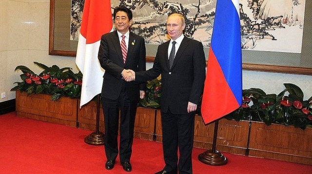 Meeting Prime minister Japan nov2014