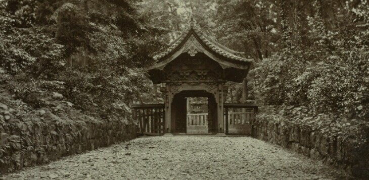 Old japan temple