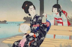 Japan mother girl