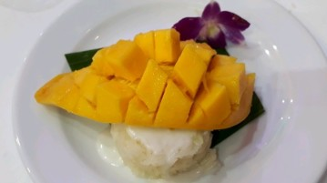 thai mango rice