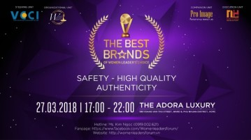 2018 The Best Brands of Women Leader's Choice