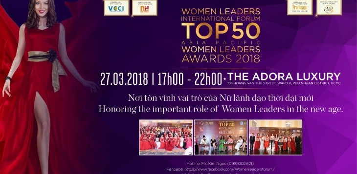 2018 Top50 Women Leaders Awards
