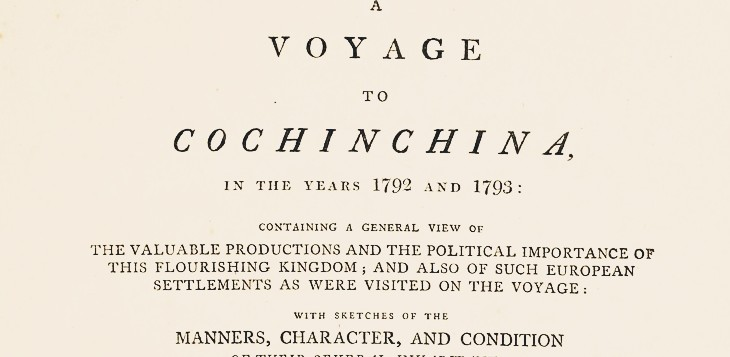 Cochinchina 1792