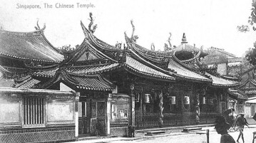 singapore old temple